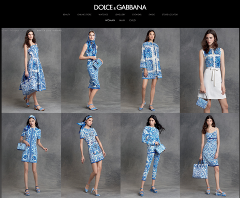 Dolce&GabbanaBlue&White 2