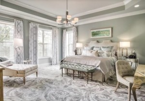 Interior design in the bedroom, Nashville interior designers, Eric Ross Interiors specializes in interior design and decoration.