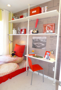 A kids room, for interior design in Nashville, TN, call the Nashville interior designers at Eric Ross Interiors.