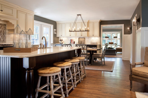 A kitchen, Nashville interior designers discuss removing walls, for interior design in Nashville, TN, call Eric Ross Interiors.