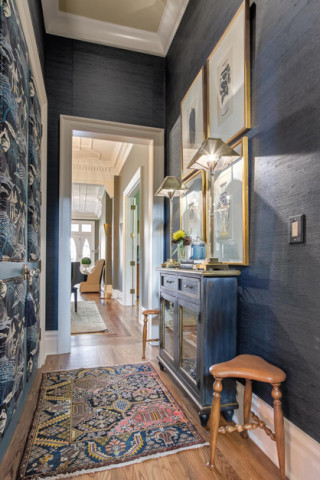 Interior designer on upholstered doors, interior design in Nashville, TN - Eric Ross Interiors.