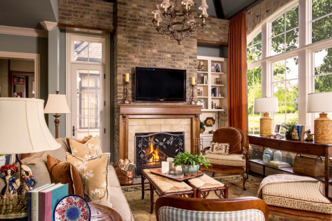 After keeping room, interior design in Nashville, TN by Eric Ross Interiors, interior designers for your next Nashville interior design project.