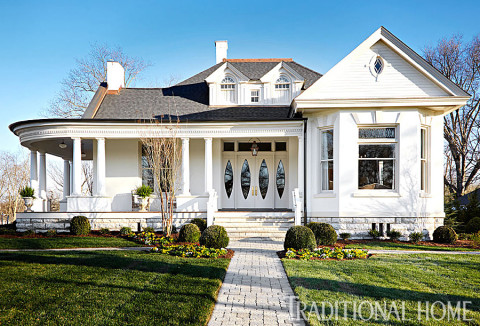 Victorian home in Traditional Home, Nashville interior designers discuss determining the style of a home.