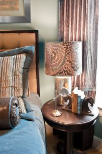 Velvet stripe euro sham, Nashville interior designers discuss interior design and stripes in your home.