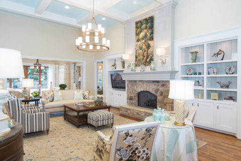 Interior designers in Nashville, TN added trim, paint and much more, for Nashville interior design contact Eric Ross.