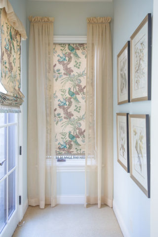 Chintz designed by Miles Redd for Schumacher, Nashville interior designers at ERI specialize in interior design, call today!