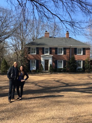 Top interior designer in Nashville, TN, Eric Ross and wife Ruthann at Boxwood Hill.