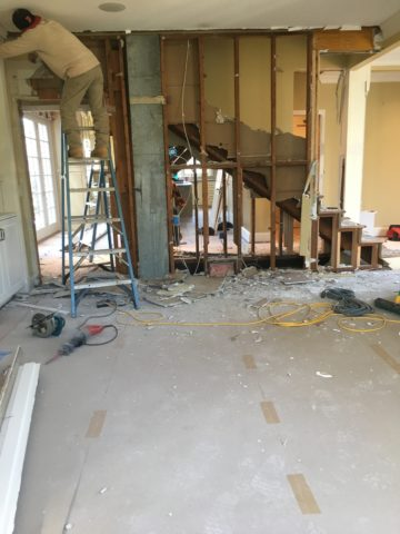 Removing obstacles, interior design in Nashville by Eric Ross Interiors.