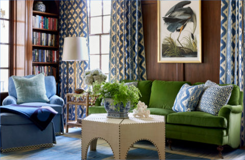 Sarah Bartholomew - House Beautiful, July 2016, Eric Ross Interiors, interior designers in Nashville, TN, shares 5 favorite Nashville interior designers.