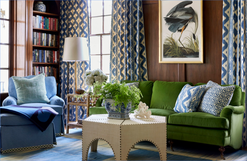 Interior design by Sarah Bartholomew, Eric Ross Interiors, interior designers in Nashville, TN, shares his 5 favorite Nashville interior designers.