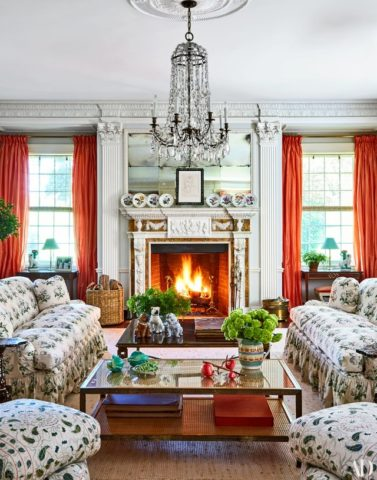 Tory Burch's home in Architectural Digest, for Nashville interior design and timeless interior design for your home, contact Eric Ross Interiors today!