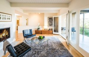 Living area with too much space, for interior design in Nashville call Eric Ross Interiors today.