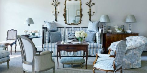 A room designed by Atlanta Designer Dan Caritherrs, Nashville interior design firm blog - Eric Ross Interiors.