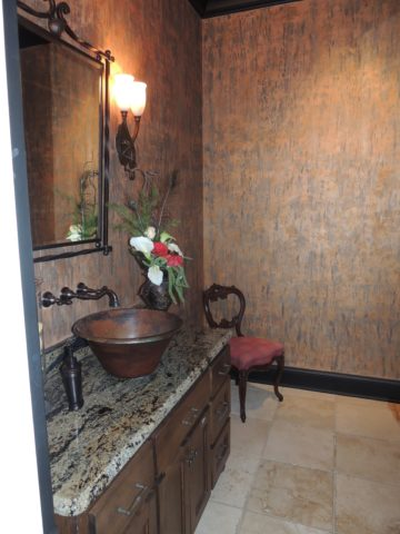 BEFORE powder bath, interior design in Nashville, TN, interior designers for your next Nashville interior design project.