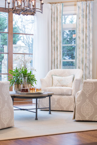 Neutral Damask, for Nashville interior design call Eric Ross Interiors, you'll want the best interior designer in Nashville, TN for your project!