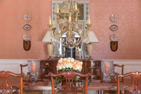 Dining room, for Nashville interior design call Eric Ross Interiors, top interior designer in Nashville, TN.