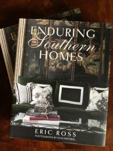 Eric Ross's book, Enduring Southern Homes, author and top interior designer in Nashville, TN, for Nashville interior design call Eric Ross Interiors, today!