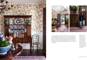 Pages of Enduring Southern Homes, for Nashville interior design call Eric Ross Interiors, today.
