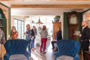 Boxwood Hill open house, Nashville interior designers event, Eric Ross's interior design.