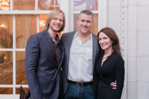 Eric Ross with Ken and Jennifer Royer, Eric Ross Interiors for interior design in Nashville.