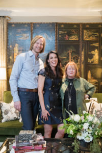 Eric and Ruthann Ross with Bethanne Matari, Nashville interior designers for your next design project, call Eric Ross Interior Design today.
