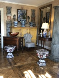 NeoClassical Italian Garden Seats, call Nashville interior designers, Eric Ross Interiors for your Nashville interior design project.