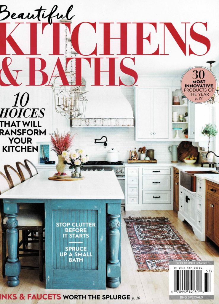 Beautiful Kitchens & Baths magazine, Nashville interior designers, Eric Ross Interiors featured in this issue.