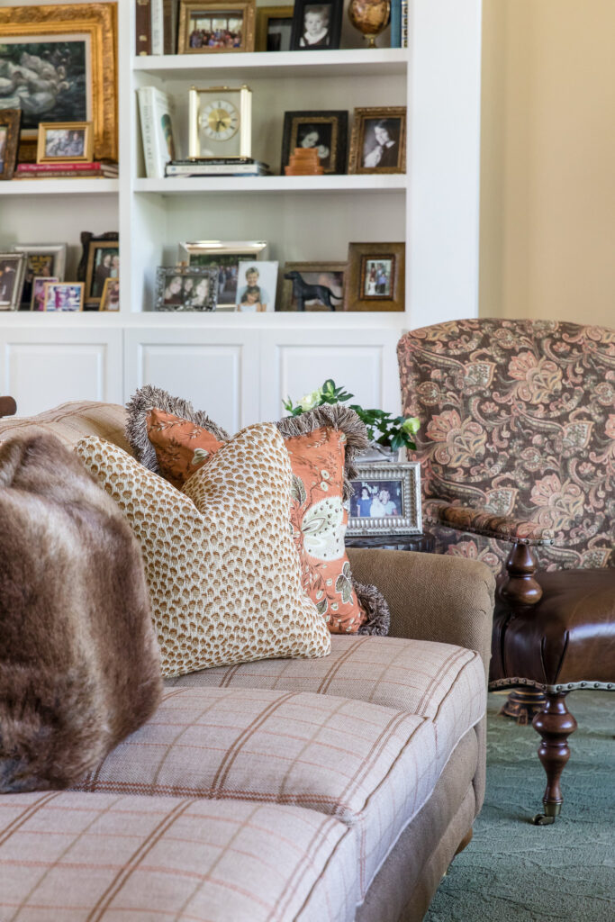 Sofa and upholstery pieces by Nashville interior design firm, Eric Ross Interiors, call today!