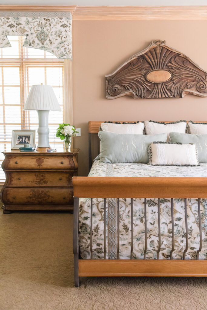 Master Bedroom suite decor and interior design in Nashville, TN by Eric Ross Interiors, call our interior designers, today!.